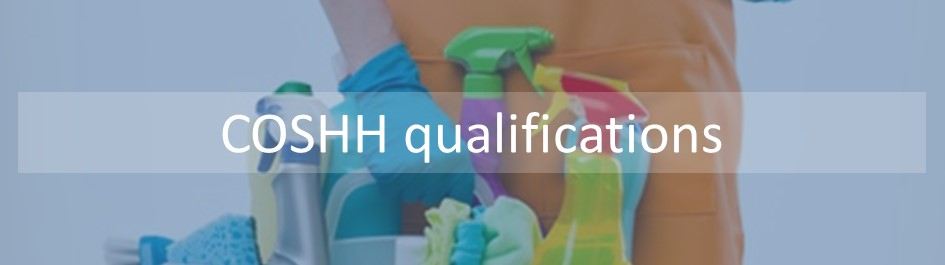 Our COSHH qualifications have been developed based on the HSE COSHH regulations, they utline the principles of COSHH