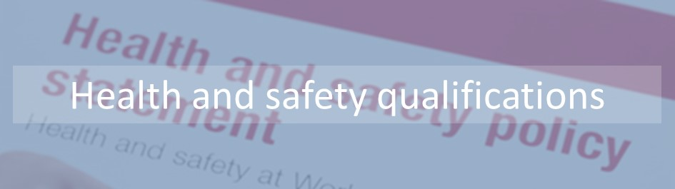 We have one of the largest range of regulated health and safety qualifications including Level 1 HEalth an DSafety Level 2 Health and safety and Level 3 Health and Safety. Our qualifications were devleoped using units shared with the CIEH.