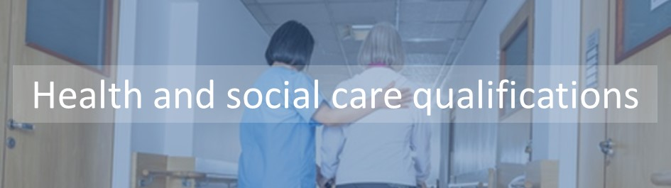 Our health and social care qualifications have been developed basedon the Care Standards outlined in the Care Certificate. Qualifications include Safeguarding adults, HAndling information in health and social care