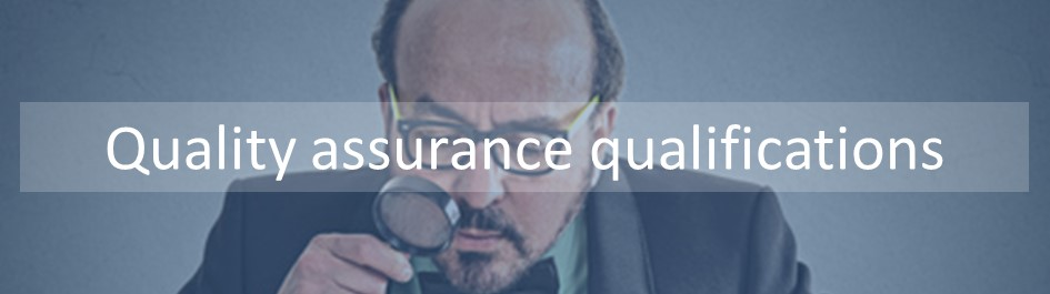 Our quality assurance qualifications including internal quality assurance and externalquality assurance. Whether it is a principles of interal quality assurance all the way through to Leading the External quality assurance of assessment, we have it!